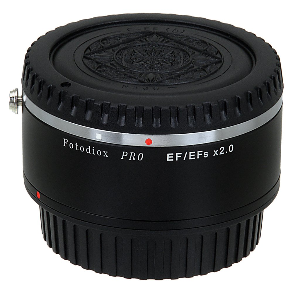 Fotodiox Pro Autofocus 2X Teleconverter Compatible with Canon EOS EF Full Frame Lenses and EF/EFs Cameras by Fotodiox