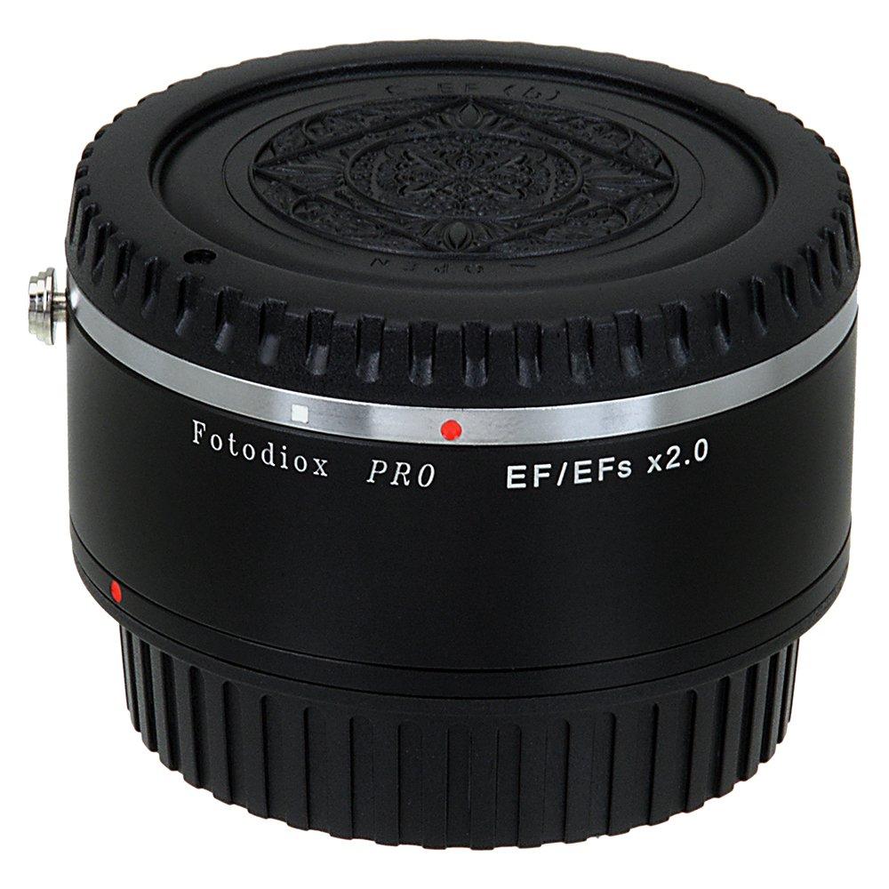 Fotodiox Pro Autofocus 2x Teleconverter - AF Doubler x2.0 for Canon EOS EF, EF-S Camera and Lens (APS-C & Full Frame)