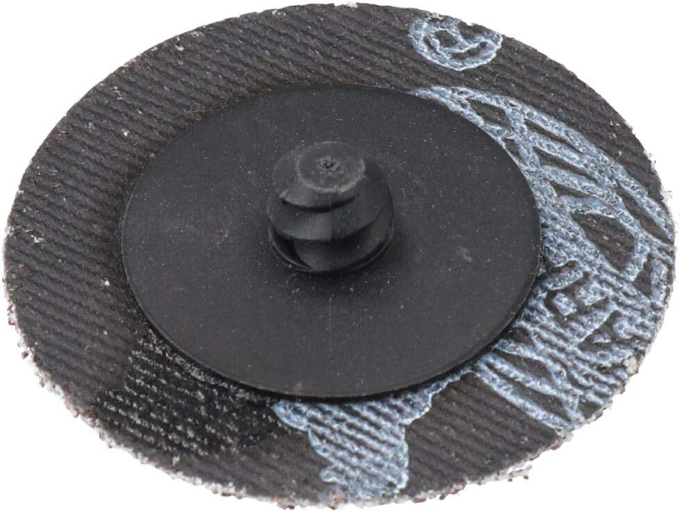 40 Grit 50mm Coarse Quick Change Sanding Discs Rust Removal Deburring 50pc