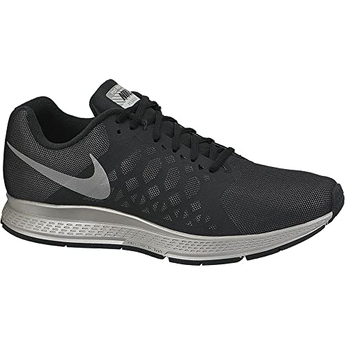 sale retailer 1653a 74373 Nike Men s Zoom Pegasus 31 Flash Black Rflslv Running Shoes-5.5 UK India