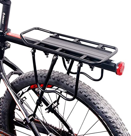 Portable Durable Bicycle Luggage Racks Quick Release Bike Carrier Panniers US