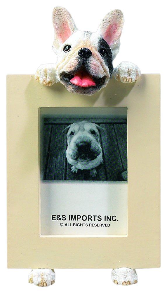 French Bulldog 2 1/2'' x 3 1/2'' Photo Frame E&S Imports Inc 35315-65