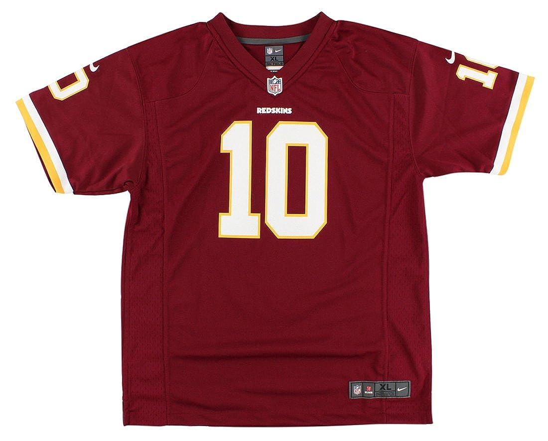 60acd8f0b Amazon.com  Nike Boys Washington Redskins Robert Griffin III Game Jersey  Burgundy  Clothing