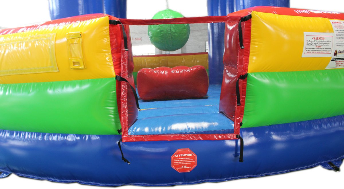 Commercial Grade Wrecking Ball and Joust Inflatable Game