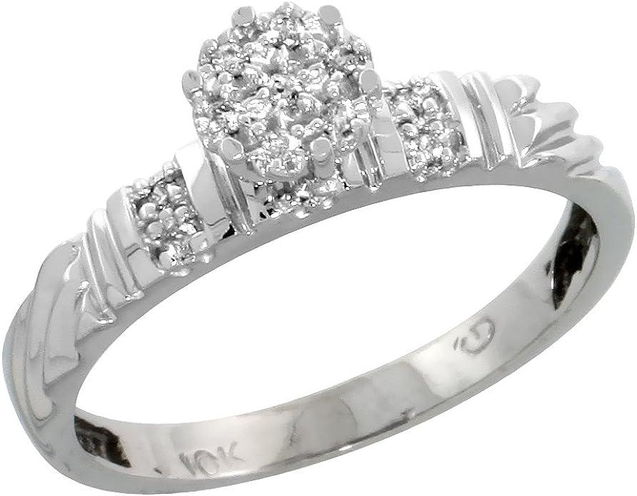 7//32 in. w// 0.03 Carat Brilliant Cut Diamonds 5.5mm Size 12 wide Sterling Silver Mens Diamond Band