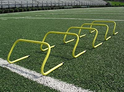 Speed Agility Hurdle Training Set of 6 Soccer Football Basketball Track