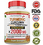 Cheap Super Strength 2000mg – Turmeric Curcumin with BioPerine (Black Pepper) Extract. 120 Fast Acting Pills – Natural Anti-inflammatory Supplement to Support The Reduction of Joint Pain & Inflammation.