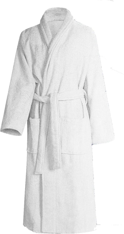 Bath robe/Sauna Jacket?-?100% Cotton Super Fluffy and Soft