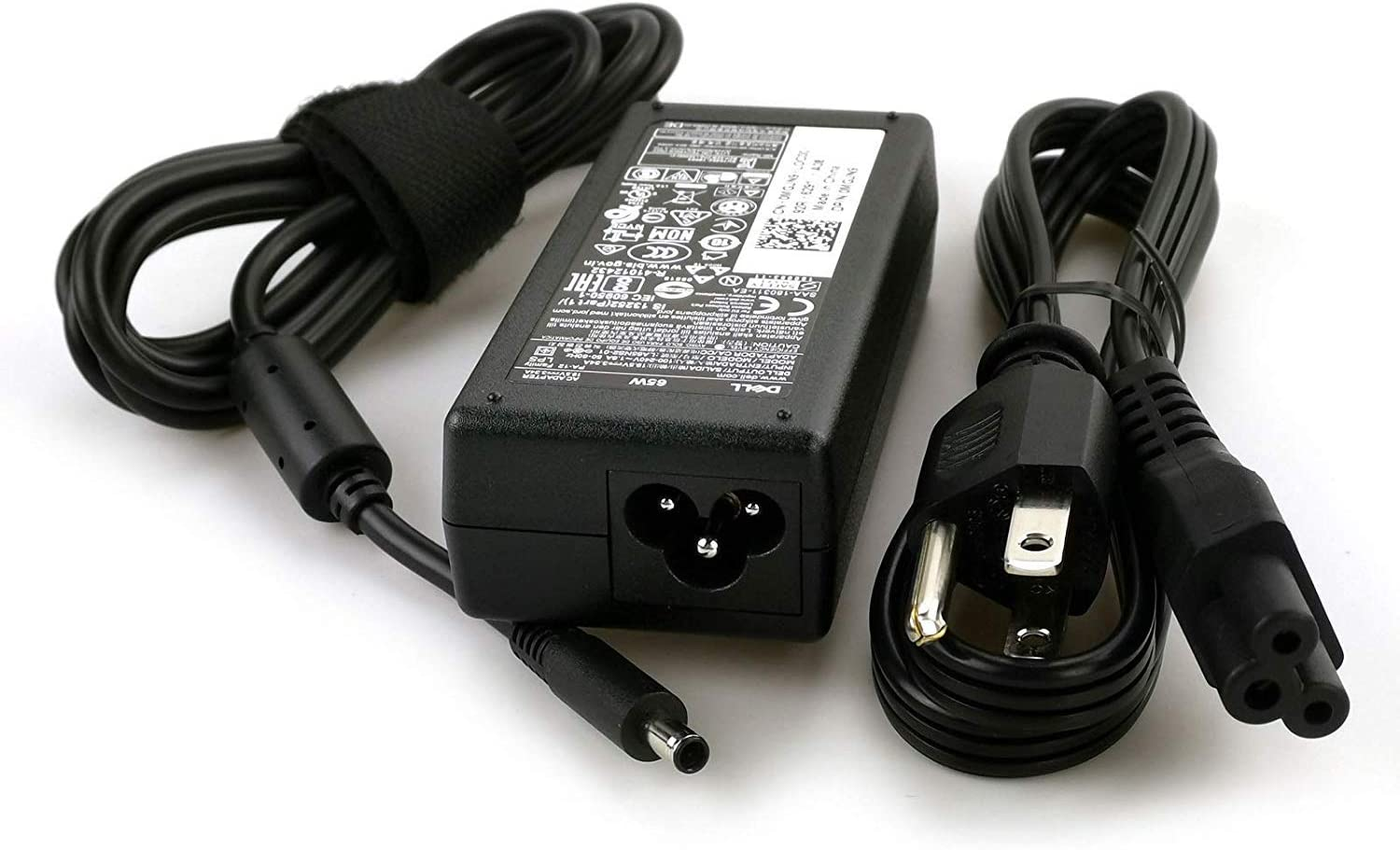 Genuine OEM Original Dell 65W Replacement AC adapter for Dell OptiPlex 3040 Micro, Dell Vostro 3459, Dell Vostro 3559.