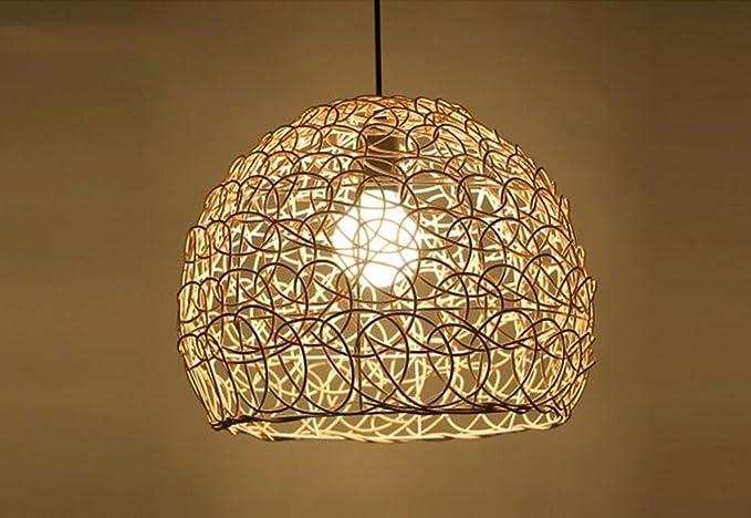 Plafoniere In Vimini : Lighsch lampadari sospensione soffitto vintage americano rétro in