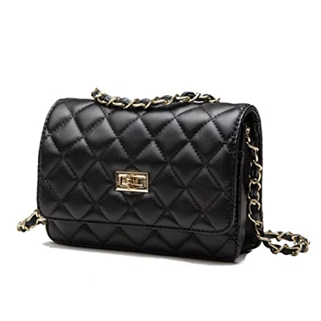 Image Unavailable. Image not available for. Color  XBLAA Womens Quilted  Twist Lock Shoulder Bag ... 19325c745d