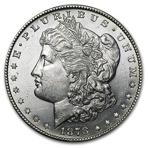 (1878 S Morgan Dollar BU $1 Brilliant Uncirculated)