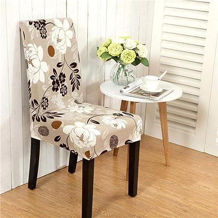 ZXYLSL Fundas para sillas Pack de 6 Piezas sillas Comedor Fundas ...