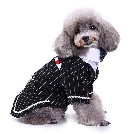 LPxdywlk Traje de Esmoquin Formal para Cachorro de Perro De ...
