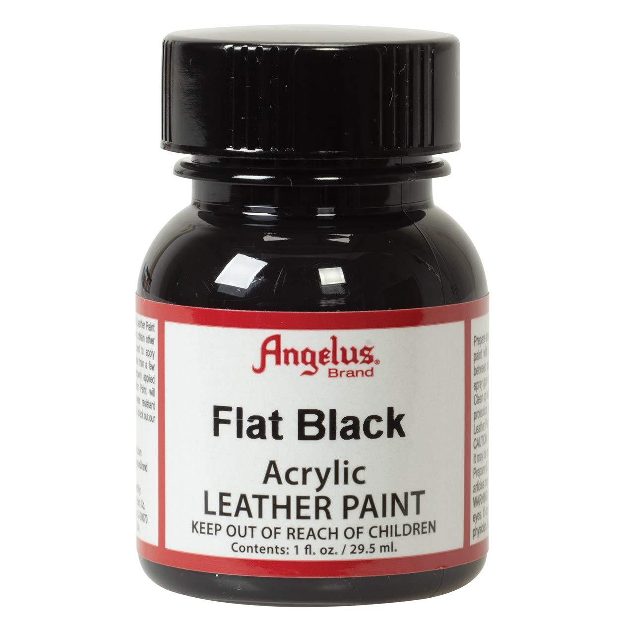 Angelus Leather Paint 1 Oz Flat Black
