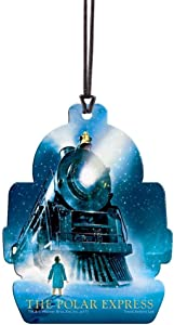 Polar Express - Train Shaped Hanging Acrylic Decoration – Perfect for Gifting or Collecting