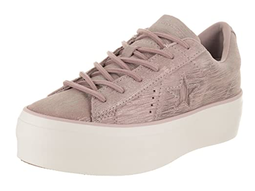47839841c829 Amazon.com  Converse One Star Platform Ox Womens Sneakers Purple ...