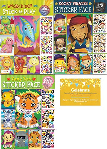 Create a Face Bundle. 1 Zany Zoo Create-a-Face Sticker for sale  Delivered anywhere in USA