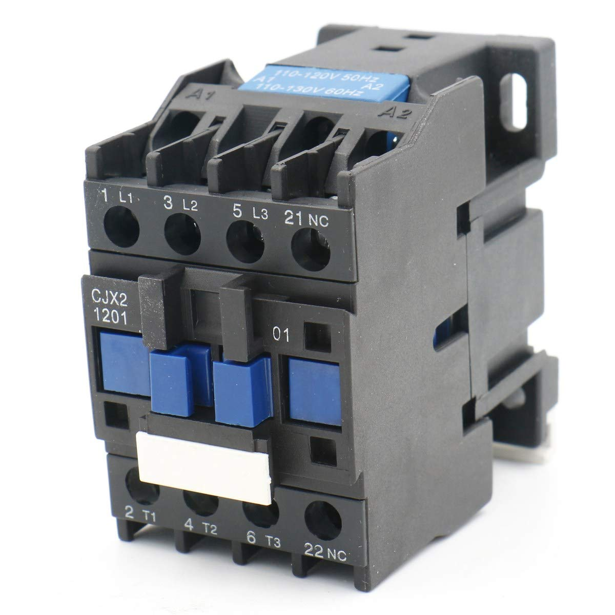 Baomain AC Contactor CJX2-1201 220V 50//60 HZ 3 Poles Normally Closed