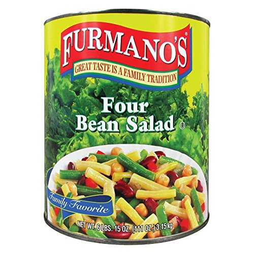 Four Bean Salad #10 Can By TableTop King