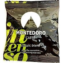 Espresso ese pods - Montedoro Intenso Classic Blend - 150 Espresso coffee Pods Individually Wrapped.