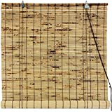 Oriental Furniture Bamboo Roll Up Blinds - (24 in. x 72 in.)