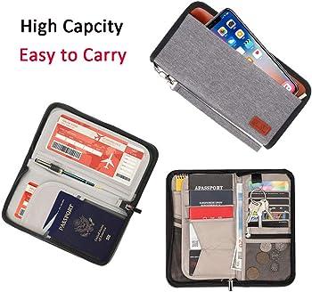 SandStyleCo RFID-Blocking Family Passport Holder