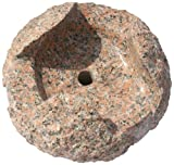 NVA Creative Garden Granite 6688041 16-Inch Nandina Fountain Stone, Orange/Red