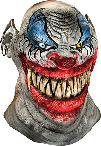 Chopper The Scary Killer Clown Horror Latex Adult Halloween Costume Mask