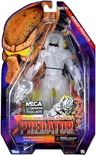 SDCC 2015 Exclusive NECA Predator Ambush Predator 7 Experimental Cloaking Action Figure by Predator B01C6NT4LY