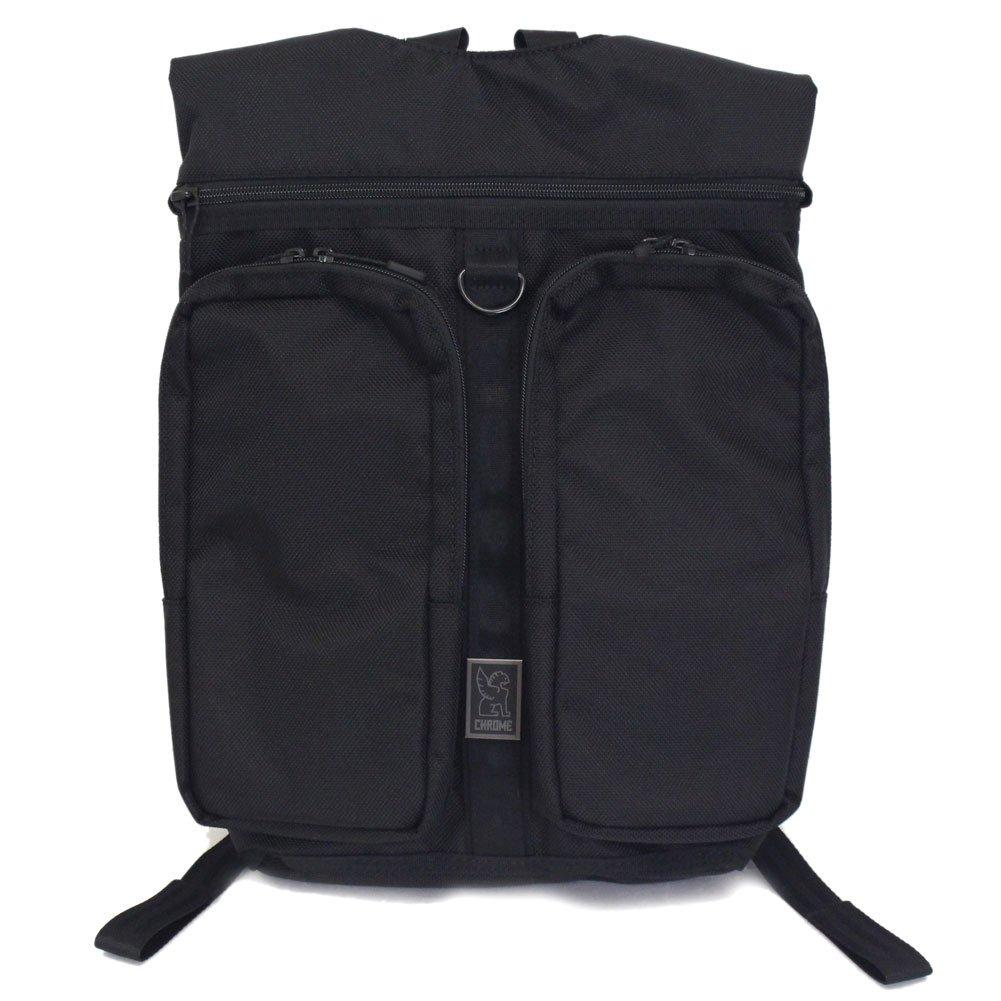 [クローム] CHROME BG-241 MXD FATHOM ファゾム バッグ ALL BLACK   B07CZD4YST