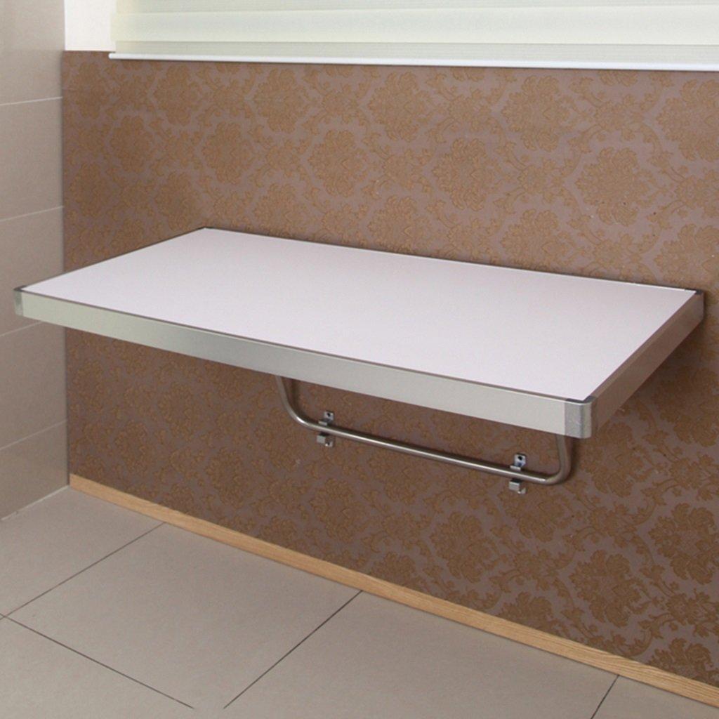 WSSF- 折りたたみ式アルミ裁断ダイニングテーブル壁掛けコンピュータのコーヒーデスクカラーサイズオプション (サイズ さいず : 100*60cm) B07BXDZ17Y   100*60cm