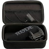 Microphone Étui de Transport Rigide Sac de Protection Étui de Rangement Boîte pour Rode VideoMic Pro Plus Microphone intégré