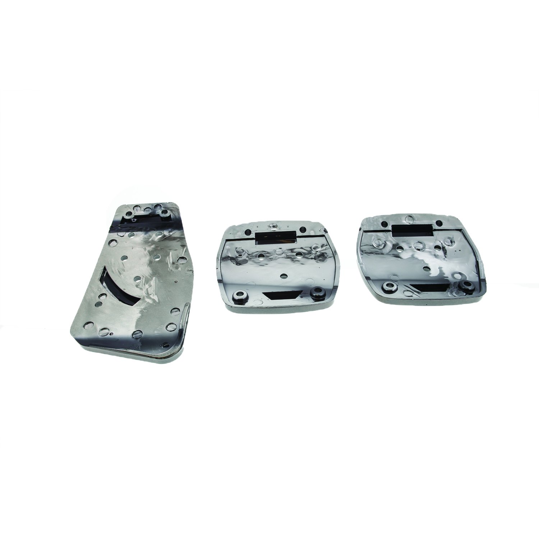 Black//Blue 1 Pack Pilot Automotive Pilot PM-2312B2 Voltage Pedal Pad Set for Automatic Transmissions