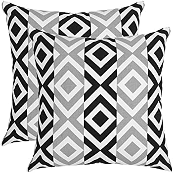 Amazon Com Bath Bed Decor Set Of 2 Throw Pillow Case Soft