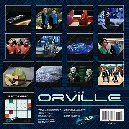 The Orville 2019 Wall Calendar