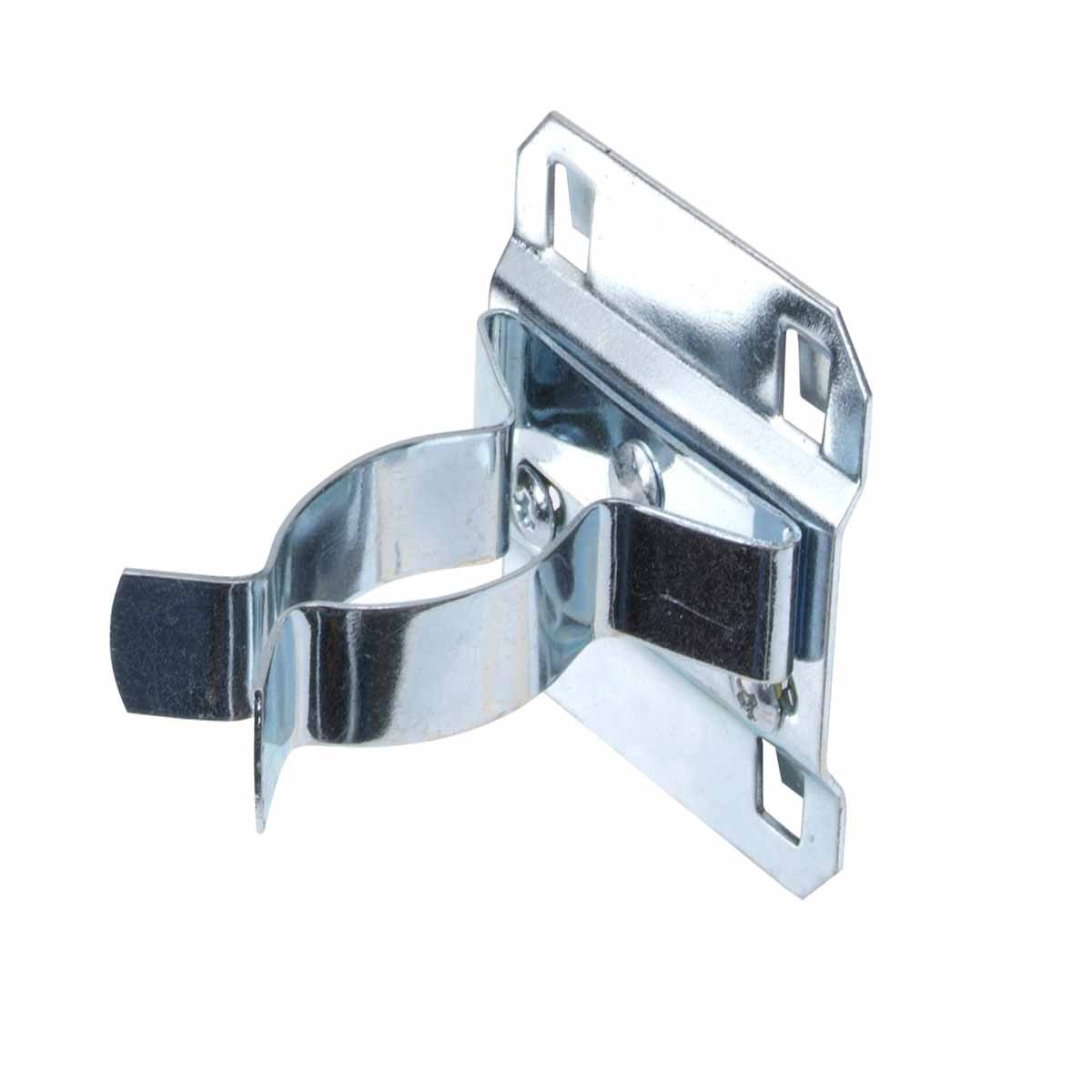 Triton Products 53120 LocHook 1 Inch to 2 Inch Hold Range 2 3 4 Inch Projection Zinc Plated Chromate Dipped Steel Extended Spring Clip for LocBoard 5 Pack