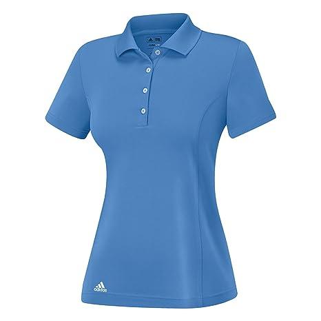 adidas Golf esencial para mujer de manga corta camisa Polo sólido  Amazon. com.mx  Deportes y Aire Libre 88e462c6a9e0f
