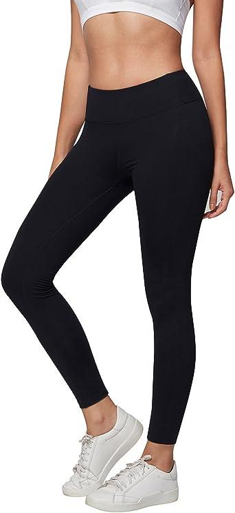Amazon Com Ajisai Yoga Pants For Women Running Workout Leggings High Waist Tummy Control Clothing
