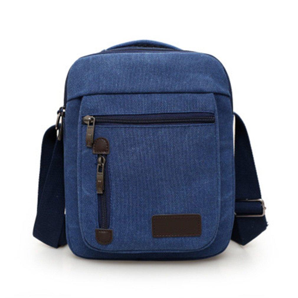 Amazon.com  MCNFJD Men s Bag Shoulder Crossbody Bags For Men Messenger Bag  Men Leather Pu Plaid Small Male Handbags Black 1 Mini-Max Length-20cm   Sports   ... a6b3cdadd4914