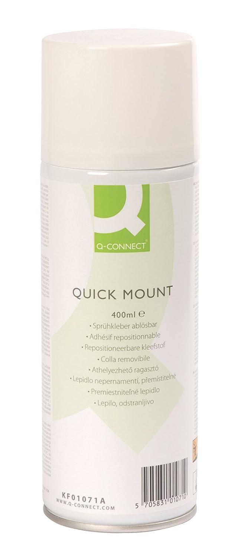 Q-Connect Quick Mount Aerosol Adhesive KF01071 Q Connect