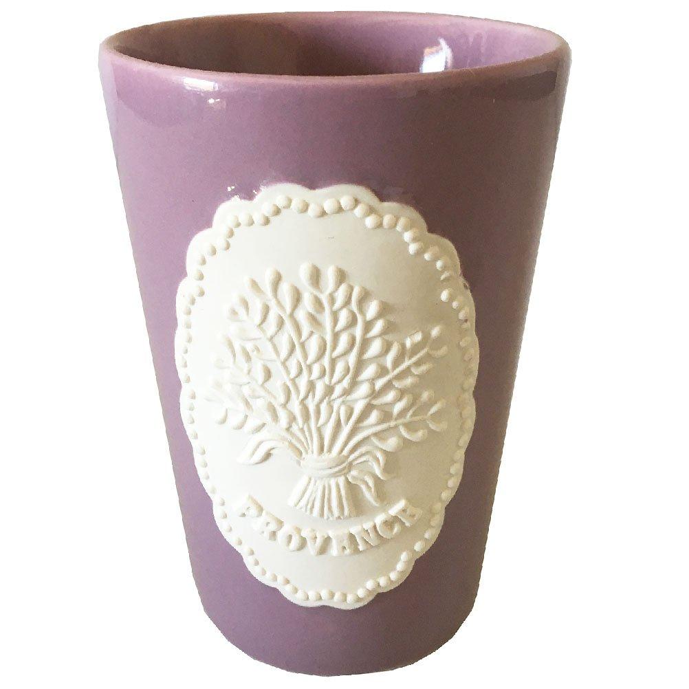 Provence Lavender Parma Ceramic Bath Tumbler EFR 521796
