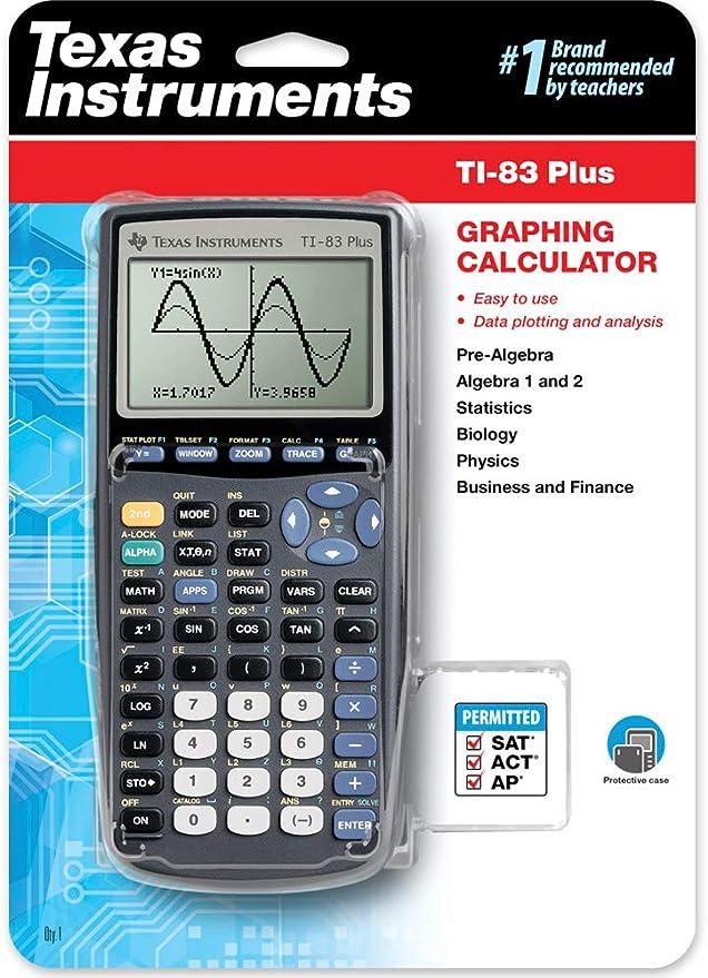 Texas Instruments TI-83PLUS - Calculadora gráfica (archivo hasta ...