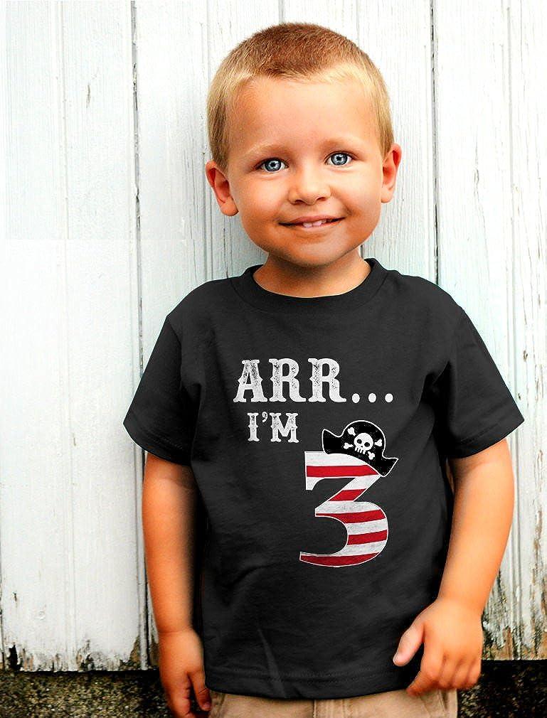 Pirate Ship Boys Kid Youth T-Shirts Tee Age 3-13 ael40482