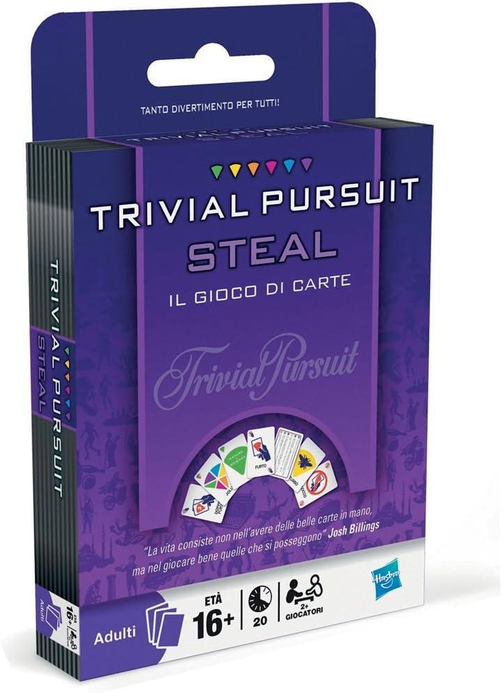 Hasbro Trivial Pursuit Steal - Extensión (en Italiano) [Importado de Italia]: Amazon.es: Juguetes y juegos