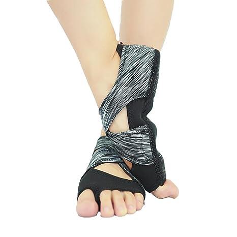 NVSHX Zapatos de Baile de la Mujer Vendaje Yoga Zapatos de ...