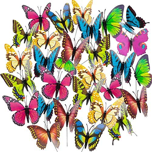 Butterfly Ornaments Waterproof Decorations Decoration