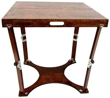 Amazon.com: spiderlegs plegable Tabla de cafe: Kitchen & Dining