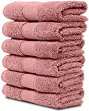 Quality:Manufactured in Turkey. %100 Ring Spun Cotton piles make this luxury towels super soft and absorbent. Manufactured under Oeko-Tex® and ISO 9001 Certificate with no harmful chemicals. It dries fairly quick after wash, very durable afte...