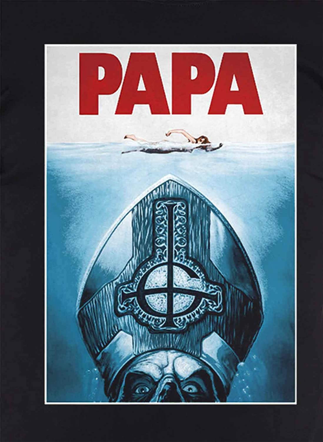 Ghost /'Papa Jaws/' T-Shirt NEW /& OFFICIAL!